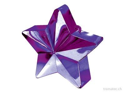 Amscan/Riethmüller Ballongewicht Stern violett