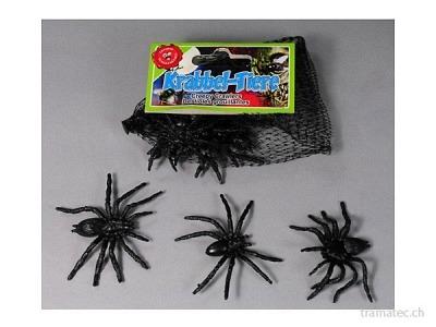 Fasnacht Spinnen 8Stk. im Netz