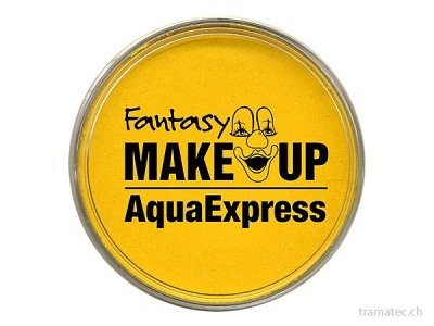 Fasnacht Aqua Expres Schminke gelb 15gr