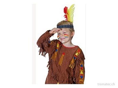 Fasnacht Indianer Stirnband