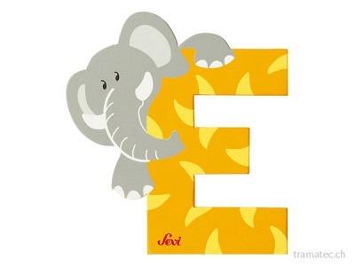 Sevi Buchstabe E Elefant 10cm ass.