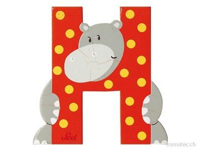 Sevi Buchstabe H Hippoptame 10cm