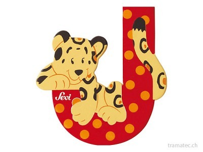 Sevi Buchstabe J Jaguar 10cm
