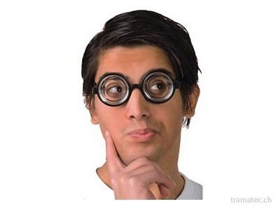 Fasnacht Brille Nerd