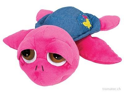 Suki Peepers Schildkröte *Yuna* S pink mit Jeans 15cm