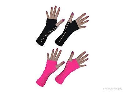 Fasnacht Handschuhe 25cm ass.