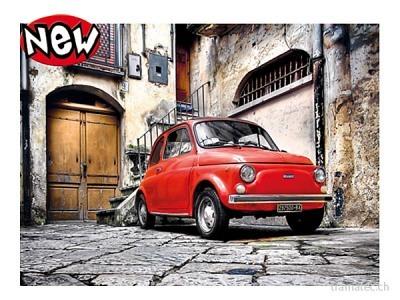 Clementoni Puzzle Fiat 500, 500 teilig