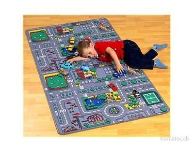 Spielteppich City 80x150cm