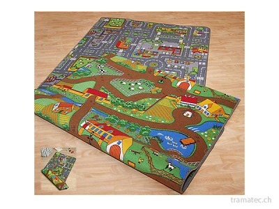 Spielteppich City/Farm Duoplay