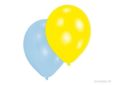 Amscan/Riethmüller 10 Ballone Perlmutt ass.
