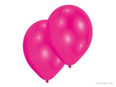 Amscan/Riethmüller 10 Ballone 27.5cm pink