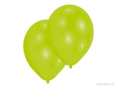 Amscan/Riethmüller 10 Ballone 27.5cm hellgrün