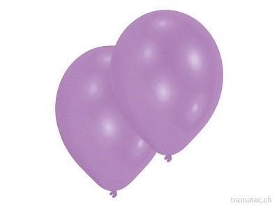 Amscan/Riethmüller 10 Ballone 27.5cm violett