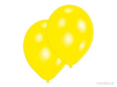 Amscan/Riethmüller 10 Ballone 27.5cm gelb