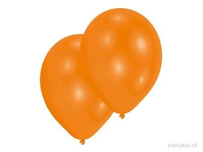 Amscan/Riethmüller 10 Ballone 27.5cm orange