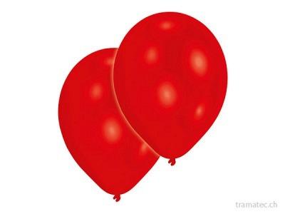 Amscan/Riethmüller 10 Ballone 27.5cm rot
