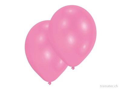 Amscan/Riethmüller 10 Ballone 27.5cm rosa