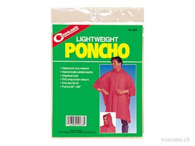 Coghlan's Leichtgewichts-Poncho klar