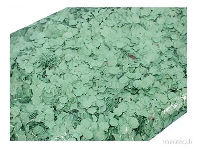Fasnacht Konfetti 10kg grün