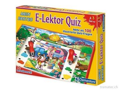 Clementoni E-Lektor Mein erstes Quiz