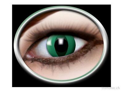 Fasnacht Kontaktlinsen Anaconda