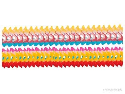 Riethmüller 4 Girlanden gefärbte Ränder