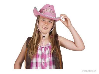 Fasnacht Hut *Glimmer girl* rosa
