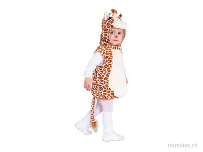 Fasnacht Giraffe Plüsch Gr. 104