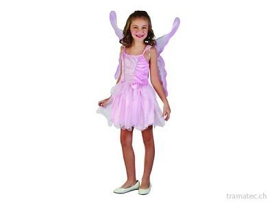 Fasnacht Fee Schmetterling mit Flügel S