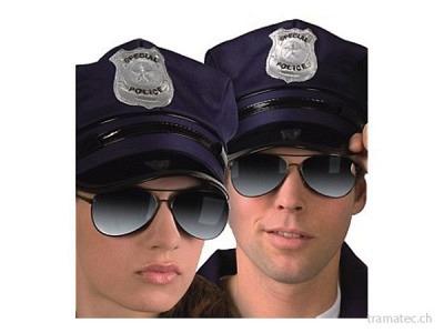 Fasnacht Brille Police
