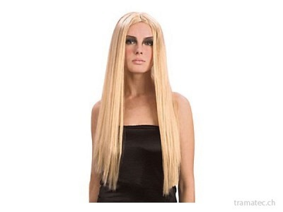 Fasnacht Perücke Hexe blond