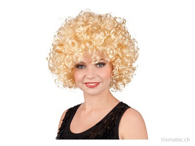 Fasnacht Perücke Candice blond