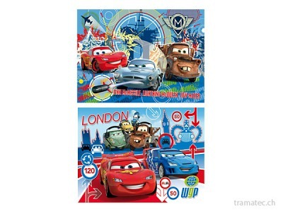 Clementoni Puzzle Cars 2  2x20 teilig