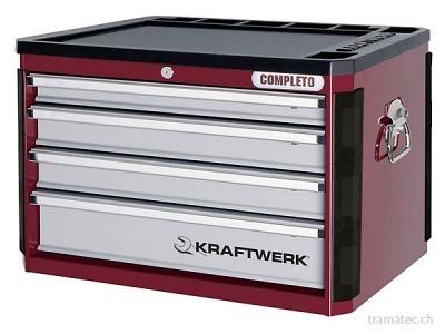 KRAFTWERK Werkzeugkoffer zu Werkstattwagen Completto