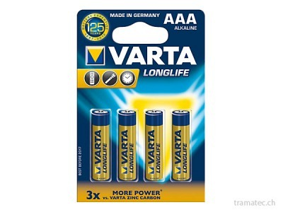Batterie Varta Longlife AAA