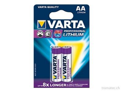Batterie Varta Lithium AA 2 Stk.