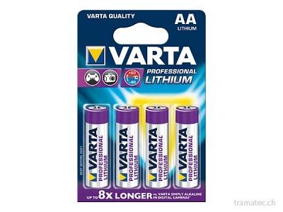Batterie Varta Lithium AA