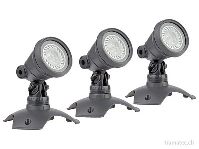 OASE LunAqua 3 LED Set 3 Unterwasserscheinwerfer-Set