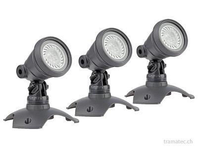 OASE LunAqua 3 LED Set 3 Unterwasserscheinwerfer-Set