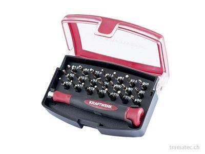 KRAFTWERK 22-t. Präzisions-Bit-Box 4 mm