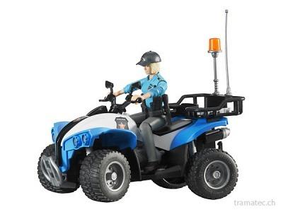 Bruder Polizei-Quad mit Polizistin und Ausstattung