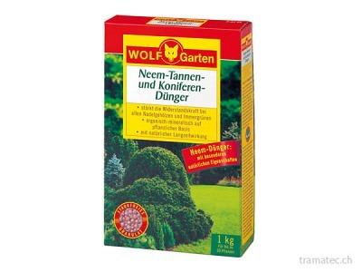 WOLF Neem Tannen- und Koniferen-Dünger P-KT 10