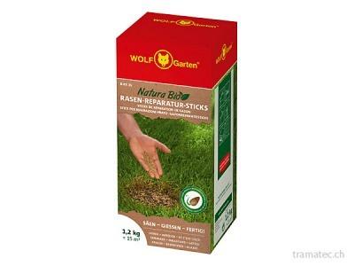 WOLF Natura Bio Rasen-Reparatur-Sticks R-RS 15 für 15 m²