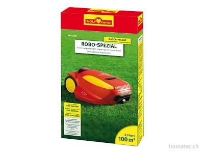 WOLF Robo-Spezial Rasen-Langzeitdünger RO-S 100 für 100 m²