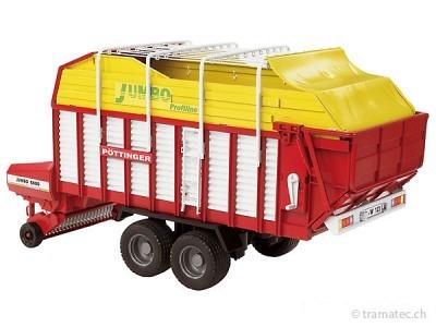 Bruder Pöttinger Jumbo 6600 Profiline Ladewagen - 02214