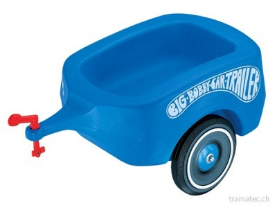 BIG Bobby-Car-Trailer blau
