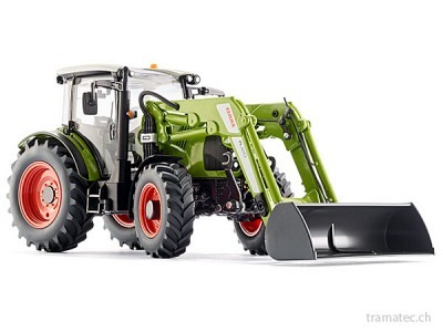 Wiking Traktor Claas Arion 430 mit Frontlader