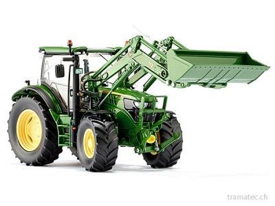 Wiking Traktor John Deere 6125R mit Frontlader