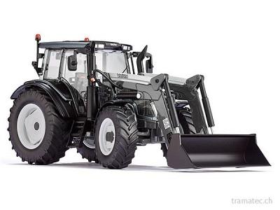 Wiking Traktor Valtra N123 mit Frontlader