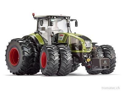 Wiking Traktor Claas Axion 950 mit Zwillingsbereifung